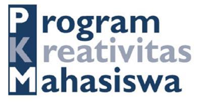 Pengumuman Hasil Evaluasi Program Kreativitas Mahasiswa 5 bidang Tahun 2016