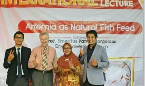 Artemia, Pasir Emas dari Tambak Garam
