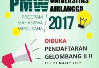 Program Mahasiswa Wirausaha Universitas Airlangga 2017