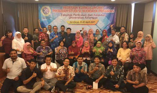 Dalam Rangka persiapan Reakreditasi , FPK Selenggarakan Redesain Kurikulum Program Studi S1 Budidaya Perairan