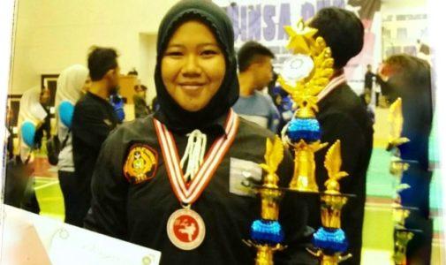 Mengikuti Jejak Senior nya di Fakultas Perikanan dan Kelautan, Muji menangkan berbagai kejuaraan Pencak Silat