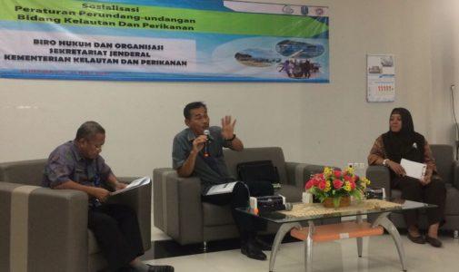 Sosialisasi Undang Undang Nomor 7 Tahun 2016 oleh Kementerian Kelautan dan Perikanan bersama FPK UNAIR