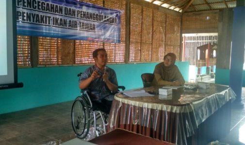 Mengatasi Permasalahan Pembudidaya Ikan, Dinas Peternakan dan Perikanan Kabupaten Blitar Gandeng FPK UNAIR Laksanakan Pelatihan Kesehatan Ikan