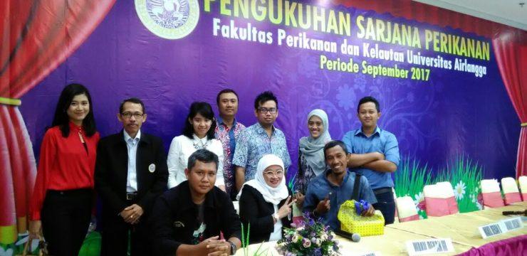 Tebar Motivasi Kepada Wisudawan FPK,  Cak Ning Alumni FPK UNAIR Kunjungi Kampus FPK