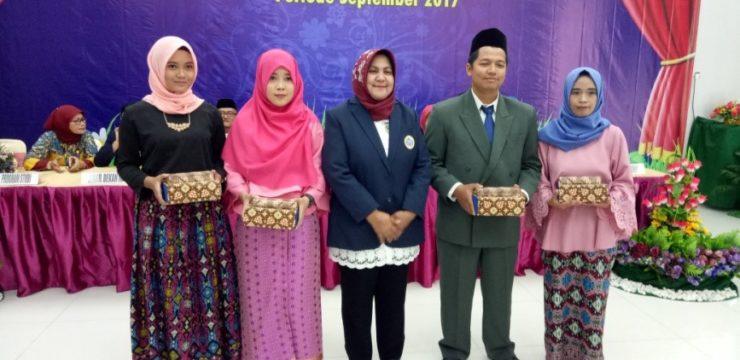 Pengukuhan Wisuda Fakultas Perikanan dan Kelautan Periode September 2017