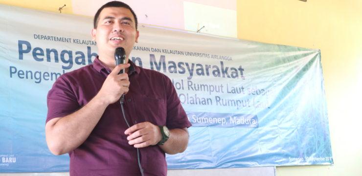 Ciptakan Olahan Rumput Laut bernilai Jual, Departemen Kelautan FPK UNAIR Adakan Pengabdian Masyarakat Di SMK Nasyrul Ulum Aeng Dake, Bloto Kabupaten Sumenep