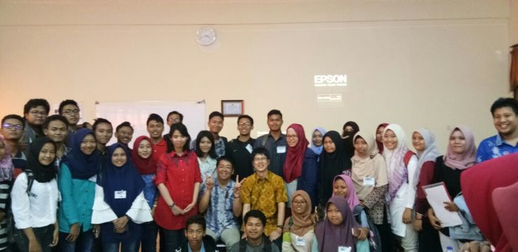 Special Guest Lecture from Japan at Faculty of Fisheries and Marine, Universitas Airlangga Surabaya