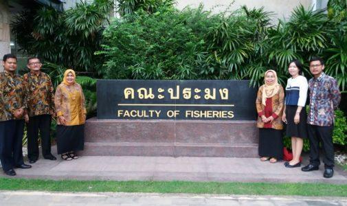 Benchmarking Kolaborasi Fakultas Perikanan dan Kelautan Universitas Airlangga dengan Kasetsart University dan Chulalongkorn University, Thailand