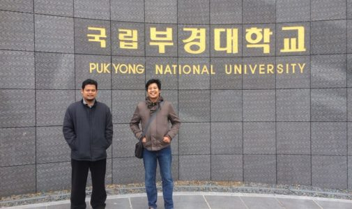 Two lecturers from FPK Unair studied NGS in South Korea