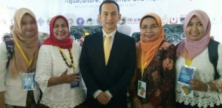 PARTISIPASI FAKULTAS PERIKANAN DAN KELAUTAN DALAM ASEAN-FEN INTERNATIONAL FISHERIES SYMPOSIUM 2017