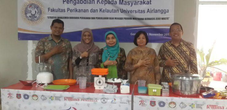 Fakultas Perikanan Dan Kelautan Dalam Pengmas Gorontalo