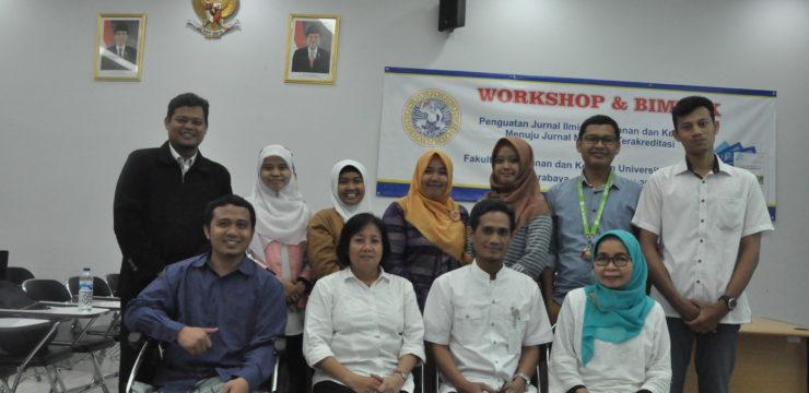 Workshop dan Bimtek dalam rangka Penguatan Jurnal Ilmiah Perikanan dan Kelautan Menuju Jurnal Nasional Terakreditasi