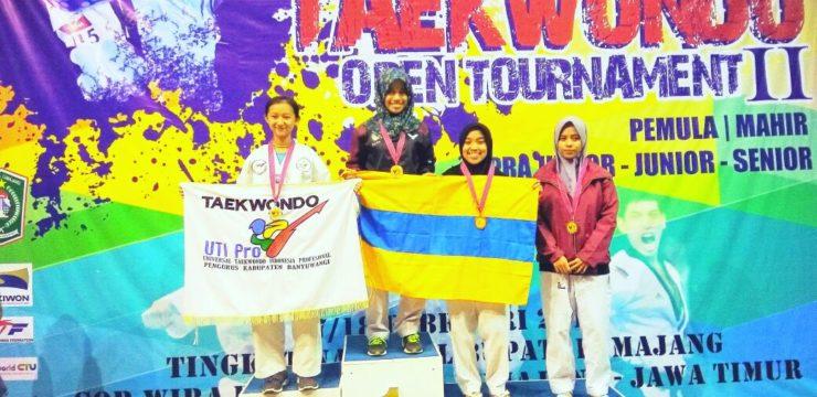 Empat Atlet Taekwondo Fakultas Perikanan dan Kelautan UNAIR Sumbang Medali pada Nasional Lumajang Open Tournament
