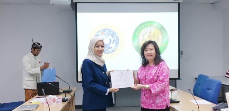 Serunya Praktek Kerja Lapang Gisty di Kasertsart University