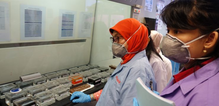 Dua Dosen Fakultas Perikanan dan Kelautan Ikuti International Workshop on Pathology of Aquatic Animals di Universiti Malaysia Terengganu