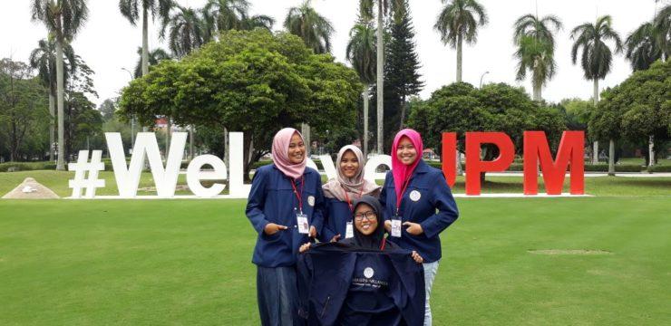 Fakultas Perikanan dan Kelautan UNAIR Mengirimkan 4 Srikandi  untuk Mengikuti AUN-ACTS Programme 2018 di Universiti Putra Malaysia