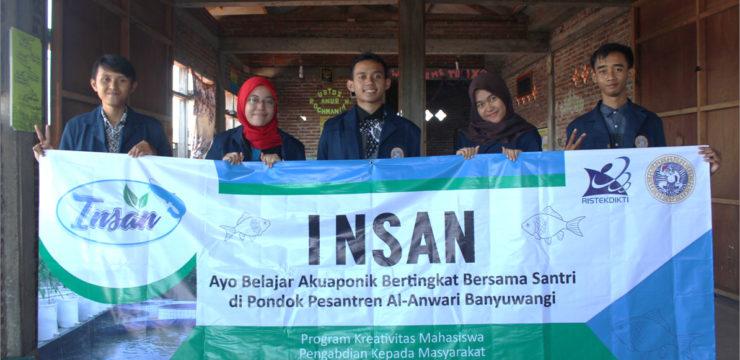 INSAN (Akuaponik Bertingkat Untuk Santri) SebagaiEdukasi Berbasis Ecogreen Untuk Melatih KeahlianVokasional Dan Jiwa Kewirausahaan Di PondokPesantren Al-Anwari Banyuwangi