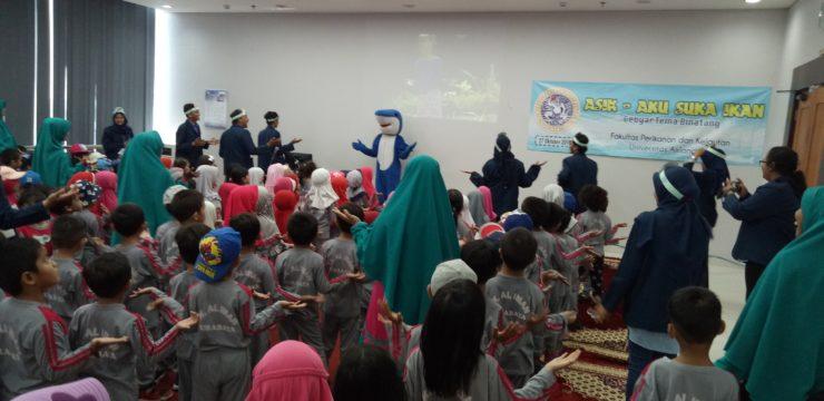 Kunjungan TK Islam Al-Iman di Fakultas Perikanan dan Kelautan Universitas Airlangga