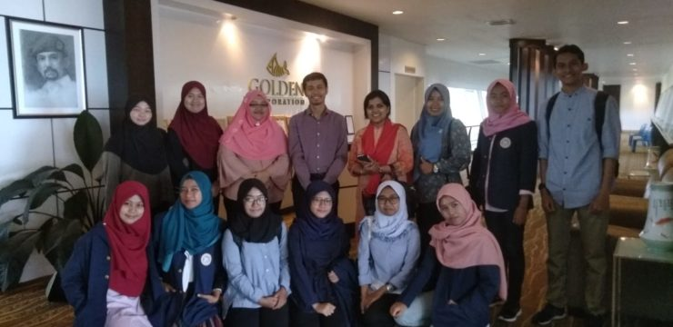 Industrial Visit Mahasiswa Fakultas Perikanan dan Kelautan Universitas Airlangga ke Golden Corporation Brunei Darussalam