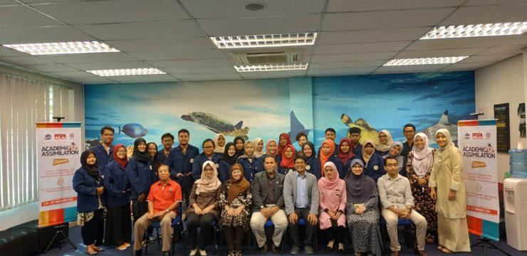 Ikuti Kegiatan Academic Assimilation, Tiga Dosen Fakultas Perikanan dan Kelautan UNAIR Berbagi Hasil Penelitian di Depan Mahasiswa UMT Malaysia