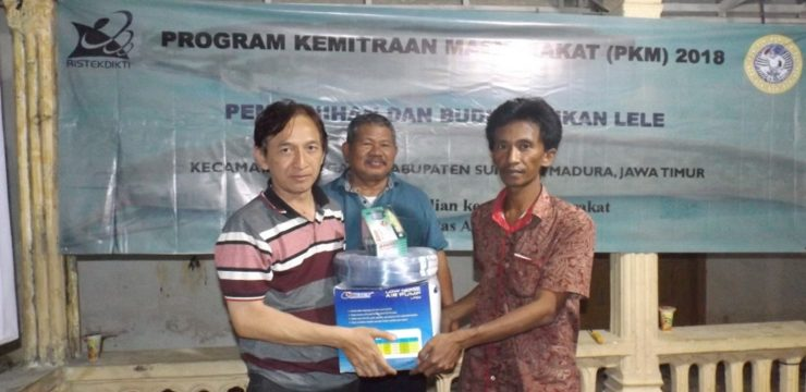 """Program Kemitraan Masyarakat (PKM) """"Aplikasi Teknologi Induce Spawning Dalam Pembenihan Ikan Lele"""""""