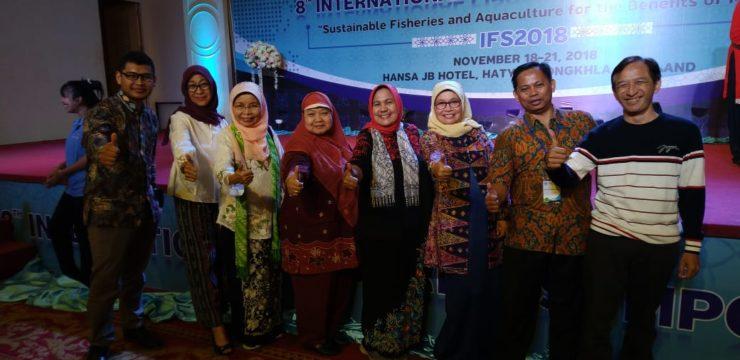Fakultas Perikanan dan Kelautan Ikuti IFS ke 8 di Thailand