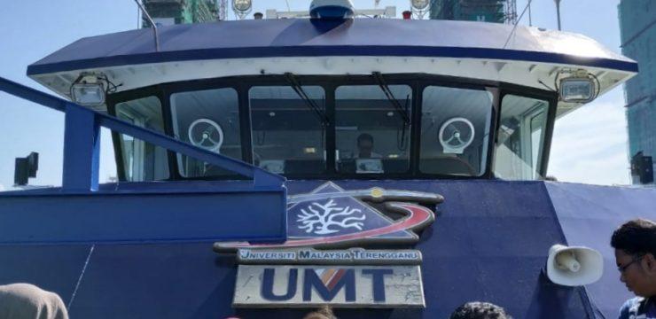 RV Discovery : FPK UNAIR rasakan naik kapal penelitian Universiti Malaysia Terengganu saat Academic Assimilation 2018