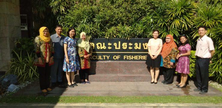 FPK Tingkatkan Kerjasama Internasional dengan Kasetsart University Thailand