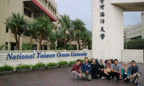 Delapan Delegasi FPK UNAIR Mengikuti The 2nd Ocean Camp di National Taiwan Ocean University