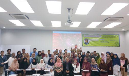 International Guest Lecture dari Prof. Sakri Ibrahim dari Universiti College Bestari