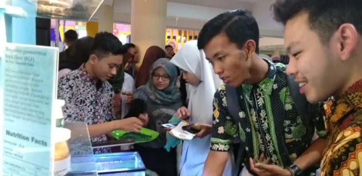 The Faculty of Fisheries and Maritime Affairs, Airlangga University Enlivens Airlangga Education Expo 2019