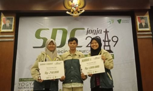MAKING ACHIEVEMENT FROM PROCESSING DORMITORY KITCHEN WASTE