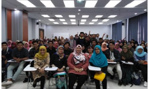 FFM INVITE GUEST LECTURER FROM AKUATROP – UMT
