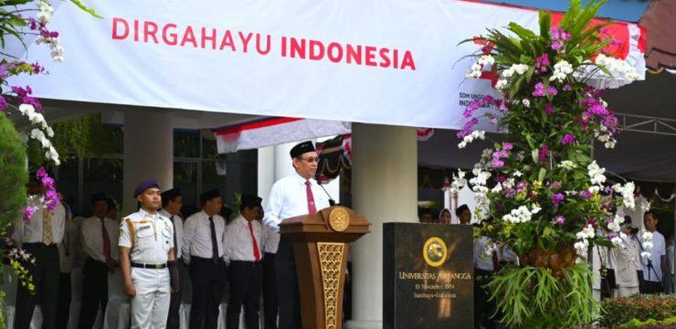 GENAP USIA 74 TAHUN, SDM UNGGUL ADALAH KUNCI INDONESIA JADI NEGARA ADIDAYA