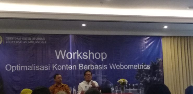 FPK IKUTI WORKSHOP OPTIMALISASI KONTEN BERBASIS WEBOMETRICS