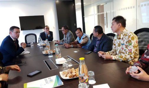 VISITING INDONESIAN EMBASSY IN UNITED KINGDOM, UNAIR IMPROVES GLOBAL RECOGNITION