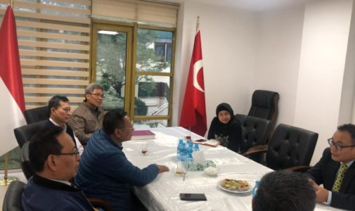 UNAIR RECTOR AND STAFF VISIT INDONESIAN CONSULATE GENERAL IN TURKEY AND ESTABLISH PARTNERSHIPS WITH SEVERAL UNIVERSITIES