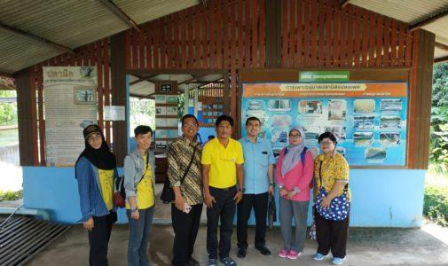 DOSEN FPK KUNJUNGI DEPARTMENT OF FISHERIES PRINCE OF SONGKHLA UNIVERSITY, PATTANI THAILAND