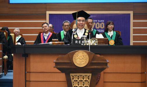 REKTOR DORONG MAHASISWA BARU MILIKI KEMAMPUAN LINTAS KEILMUAN