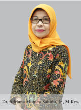 Dr. Adriana Monica Sahidu, Ir., M.Kes.