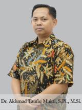 Dr. Akhmad Taufiq Mukti, S.Pi., M.Si.