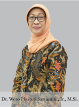 Dr. Woro Hastuti Satyantini, Ir., M.Si.