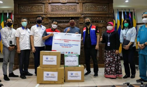 PERTAMINA AND HISWANA MIGAS PROVIDE PPE AID AND GASOLINE VOUCHERS FOR MEDICAL WORKERS