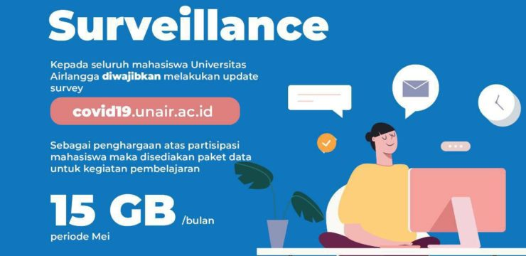 UNAIR PROVIDES INTERNET DATA UP TO 15GB TO STUDENTS DURING PANDEMIC