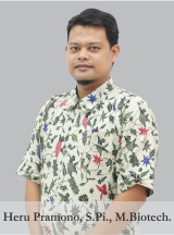 Heru Pramono, S.Pi., M.Biotech.