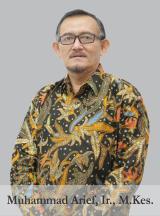 Muhammad Arief, Ir., M.Kes.