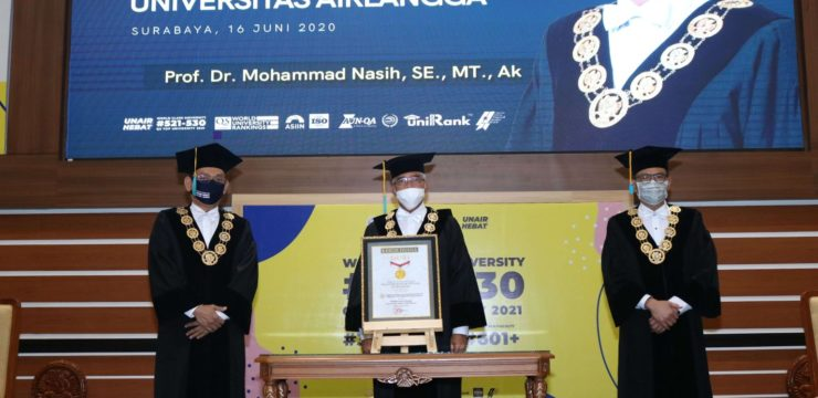 UNAIR RECEIVES MURI WORLD RECORD AWARD FOR FIRST EVER RECTOR ELECTION HELD ONLINE