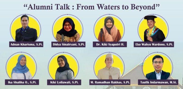 Alumni Talk: From Waters to Beyond [TERBUKA UNTUK UMUM]