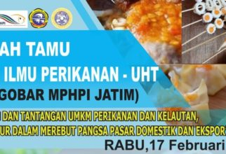 Kuliah Tamu Prodi Ilmu Perikanan-Universitas Hang Tuah (NGOBAR MPHPI JATIM)