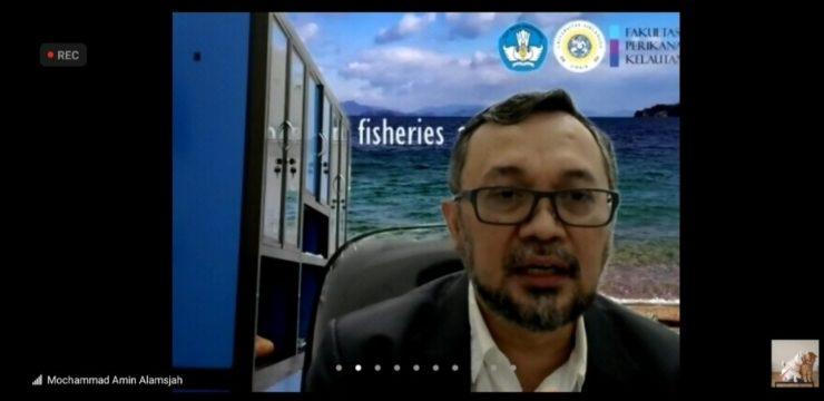 "11 Bidang Garap Perikanan di Indonesia, Prof. Amin: ""Posisi lapangan pekerja perikanan tersebut memberikan kesempatan bagi 45 juta tenaga kerja di Indonesia"""